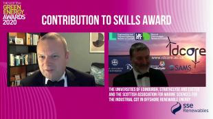 IDCORE SGEA20 Award